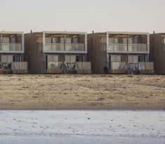 Vakantiepark Landal Beach Villas Hoek van Holland op het strand